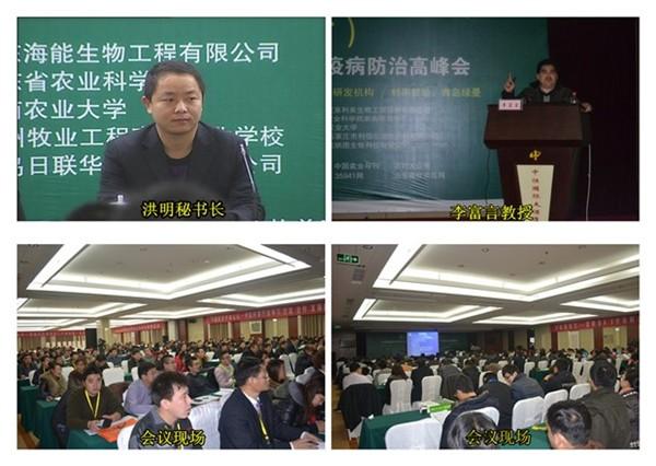 潍坊富言禽病研究院冠名,青岛绿曼生物工程有限公司特别赞助,济南