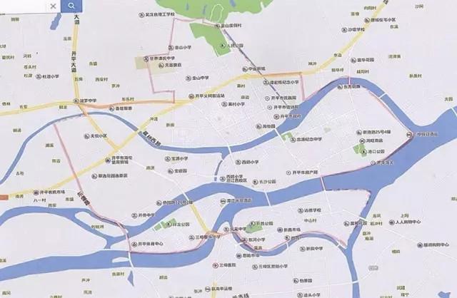 交汇处(沿人民东路)—人民东路与利丰路交汇处(沿沙坪河)&mdash