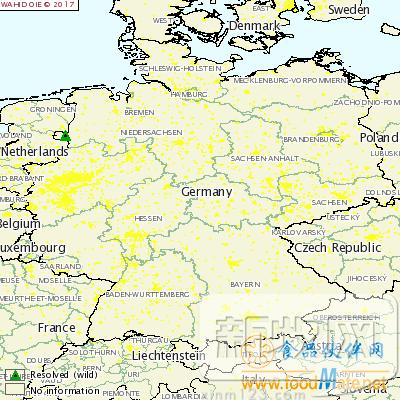 德国绍普夫海姆 地图